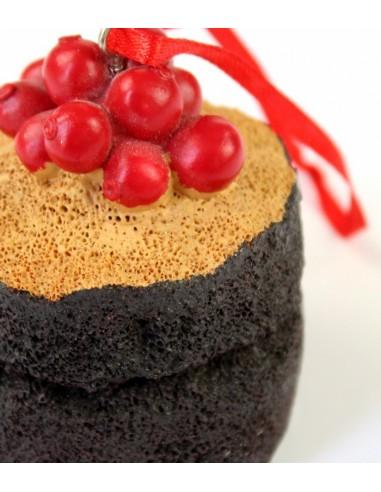 Cupcake da appendere con ribes