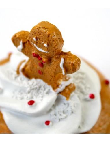 Cupcake grande omino marzapane