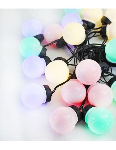 Filo di luci colorate